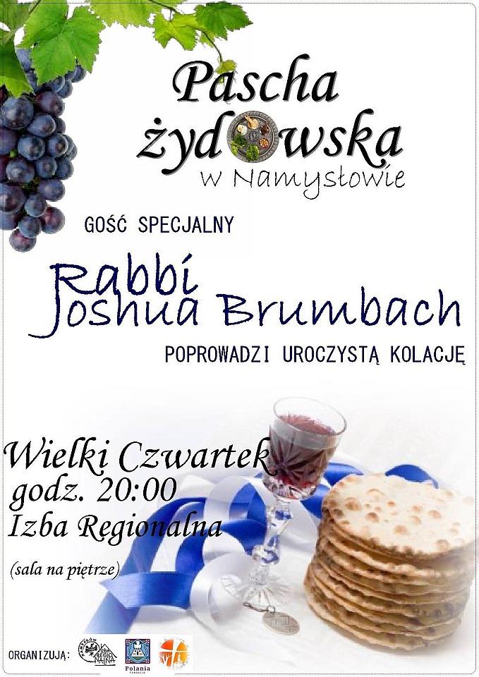 Pascha Żydowska w Namysłowie
