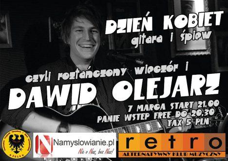 Koncert Dawida Olejarza na Dzień Kobiet w Retro