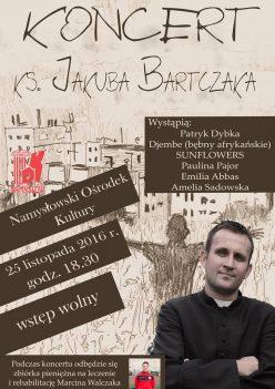 ks. Jakub Bartczak zagra w Namysłowie