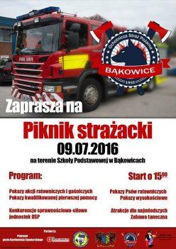 Bąkowice koło Świerczowa - piknik strażacki 2016