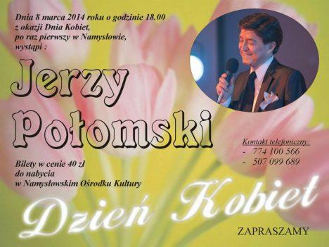 Jerzy Połomski w Namysłowie