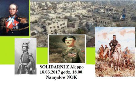 Koncert Solidarni z Aleppo