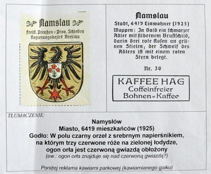 Herb powiatu namysłowskiego - historia.