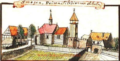 Stary kościół w Smogorzowie