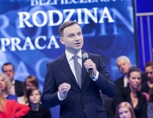 Andrzej Duda w Namysłowie