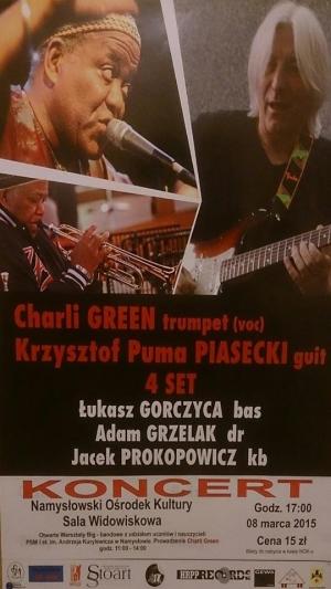 Koncert Charli Green i Krzysztofa Pumy Piaseckiego