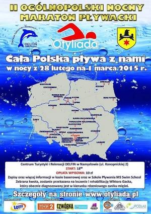 II Ogólnopolski Nocny Maraton Pływacki