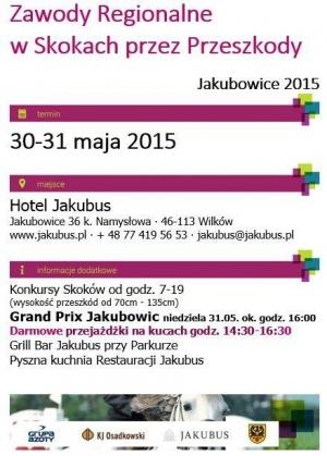 Zawody w Skokach przez Przeszkody - Jakubowice