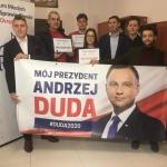Kampania Andrzeja Dudy w Namysłowie