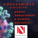 Koronawirus - powiaty