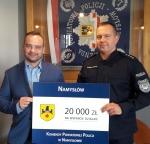Namysłowski samorząd dopłaca do Policji