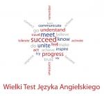 Logo Wielkiego Testu Języka Angielskiego 2014