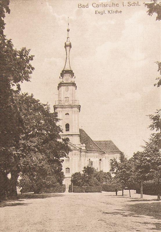 Kościół ewangelicki w Pokoju (archiwum cyfrowe TPNiZN)
