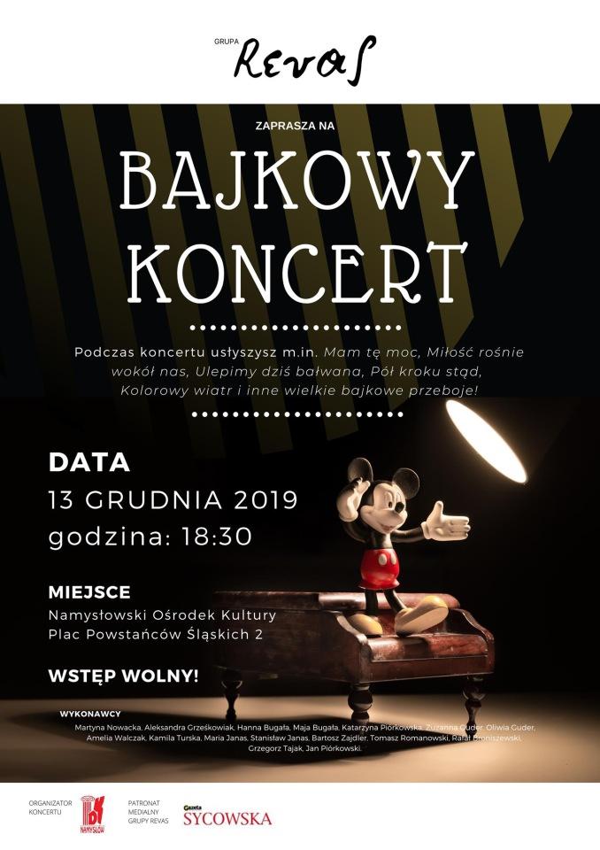 Bajkowy Koncert REVAS w Namysłowie