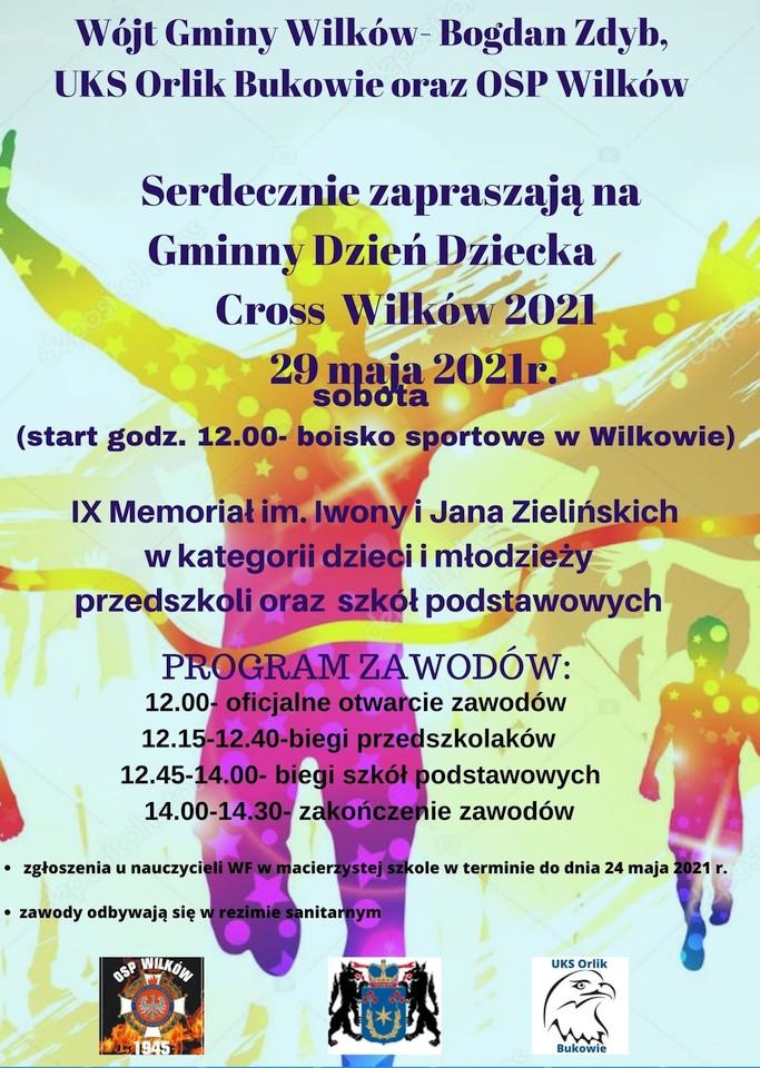 Cross Wilków 2021 oraz Gminny Dzień Dziecka