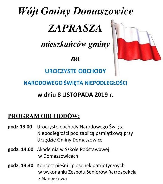 Domaszowice 2019 - Święto Niepodległości