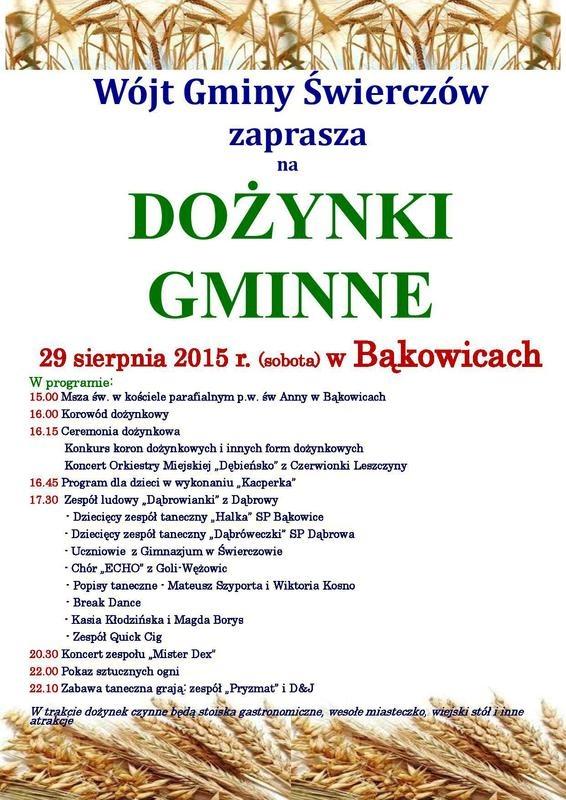 Dożynki w Bąkowicach
