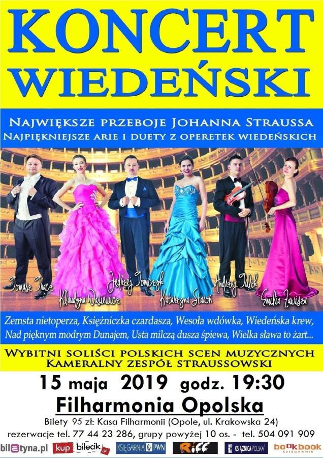 Koncert Wiedeński w Opolu 2019