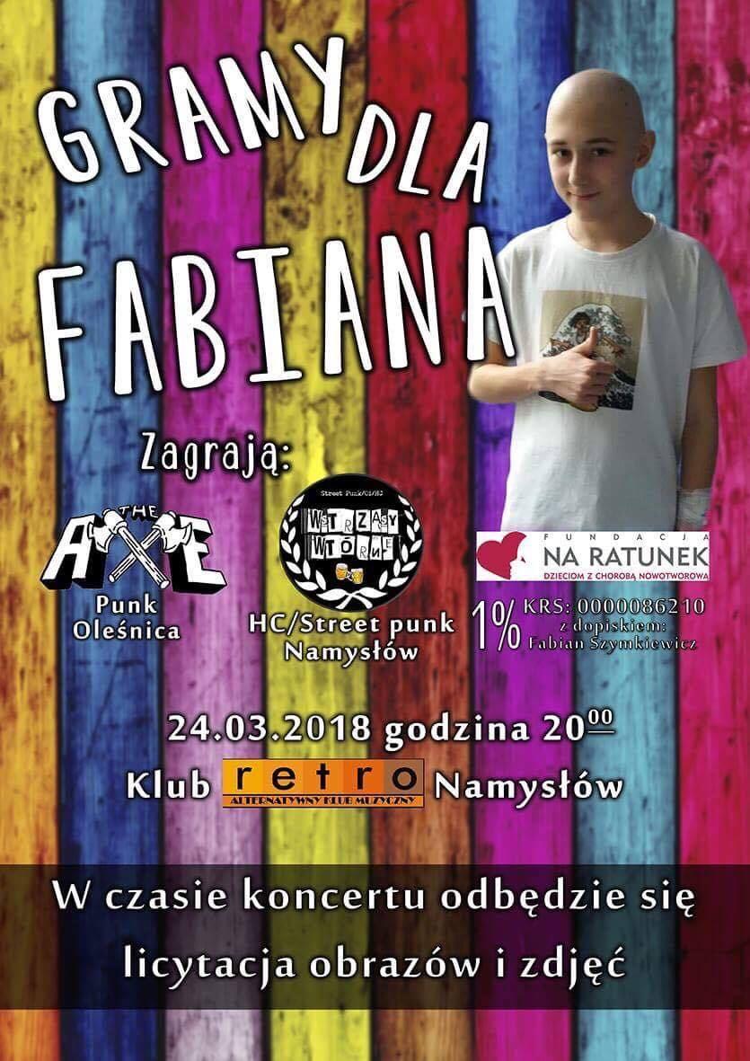 Koncert Gramy dla Fabiana