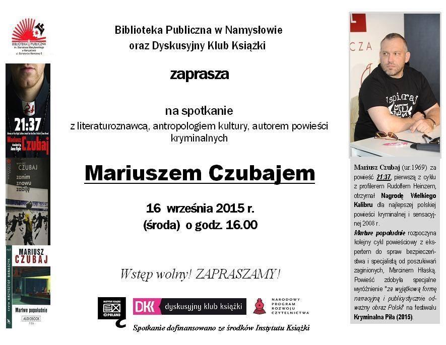 Mariusz Czubaj w Namysłowie