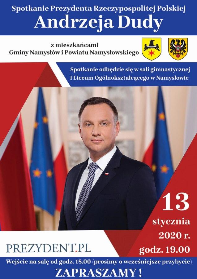 Andrzej Duda wNamysłowie