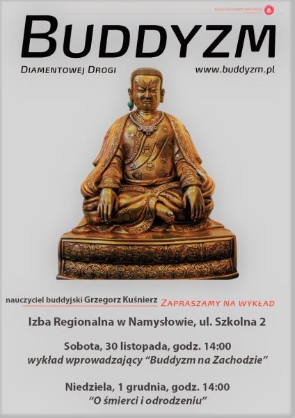 Wykład o buddyzmie - Izba Regionalna w Namysłowie