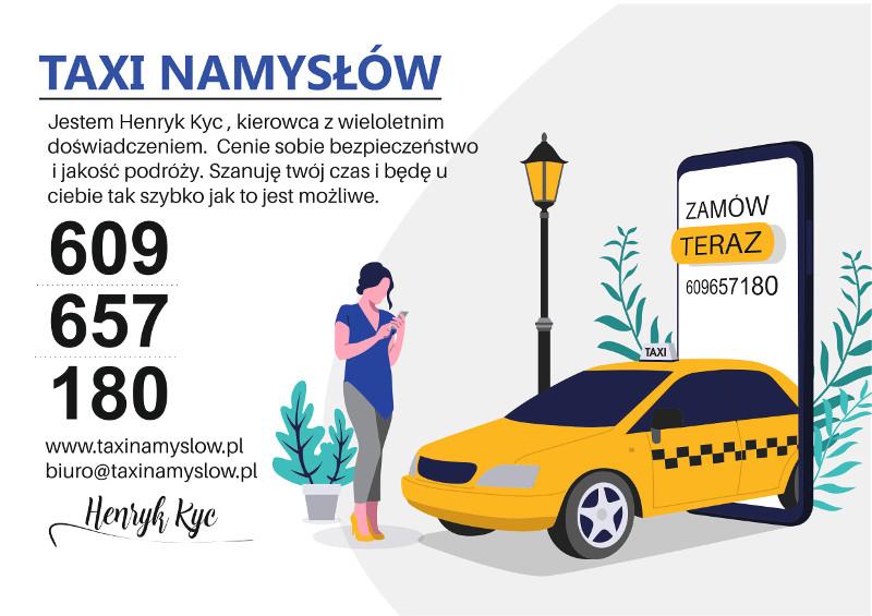 Namysłowski taksówkarz Henryk Kyc